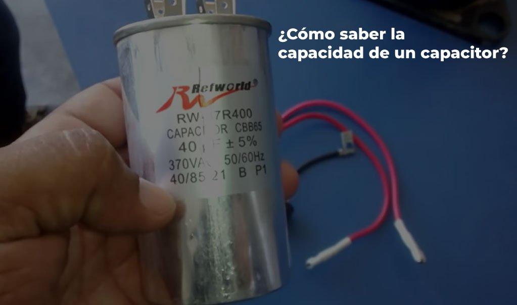 Tipos de capacitores para aire acondicionado