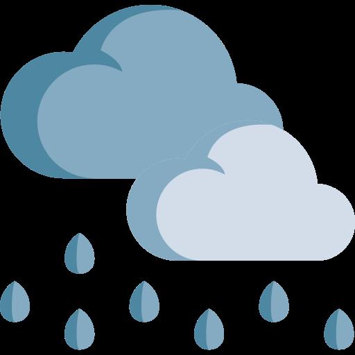 Presión del aire acondicionado cuando llueve